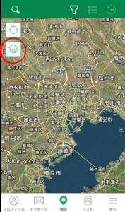 ジオキャッシング航空マップ