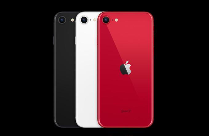 iPhone SE_第2世代_カラーバリエーション
